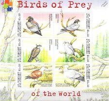 Birds of Prey of the World / Bird 6v Stamp Sheet (2002 St Vincent & Grenadines)
