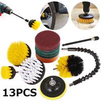 13 X Kit Nettoyage Foret Brosse Brosses Attachement Brosse Nettoyage Électriq SH