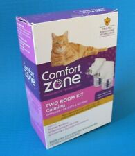 Comfort Zone Two Room Cat Calming Diffuser Kit 2 Diffusers and Refills