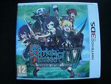 Etrian Odyssey IV (4) Legends Of The Titan For Nintendo 3DS Brand New & Sealed