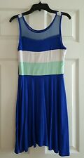 NWT GIRLS 33 LIGHTS SEE THRU TOP DRESS SIZE 12