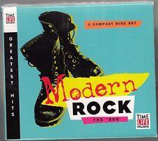 Modern Rock The 80's Time Life 3 CD BOX SET 1999 RARE