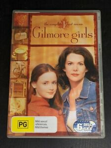 Gilmore Girls: The Complete First Season (2001, 6 x DVD)