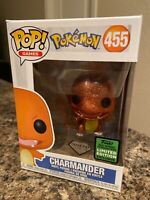 💎 Charmander Funko POP! Diamond Collection Pokemon ECCC Exclusive #455