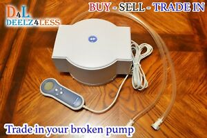 Used Select Comfort Sleep Number Air Bed Pump For Queen King Mattress EFCS4-2PR