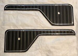 73-79 Ford Truck 78-79 Bronco Replacement Door Insert Panels Black