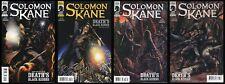 Solomon Kane Deaths Black Riders Comic Set 1-2-3-4 Lot Robert Howard REH Horror