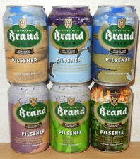 BRAND Bier 6 cans ART set from HOLLAND (33cl)