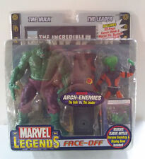 HULK VS LEADER MARVEL LEGENDS FACE-OFF SERIES TOYBIZ 2006