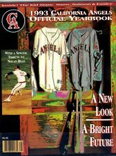 1993 California Angels Official  MLB Yearbook  jmc2