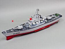 RC BOAT Radio Control RC BATTLESHIP Military SHIP 7.2V Twin Motor -Ready To Run