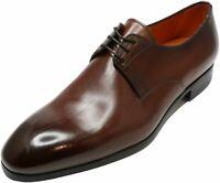 Santoni Men's Induct Oxford Leather