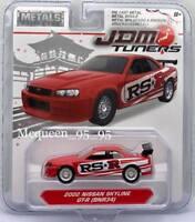 Jada 2018 Metals JDM Tuners 2002 Nissan Skyline GT-r (BNR34) RED 1:64