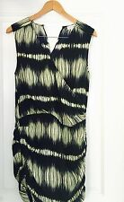 WITCHERY DESIGNER PRINTED WORK DRESS SZ 6