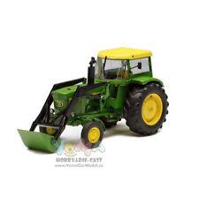 Schuco 1/32 John Deere 3120 Tractor With Hood And Front Loaders Green 450767800