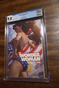 Wonder Woman #750 Artgerm Exclusive Trade Variant CGC 9.8
