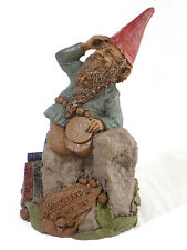 "* 5 1/2 "" Tom Clark Gnome Figure ""Graybeard"" / Edition # 36 / 1987"