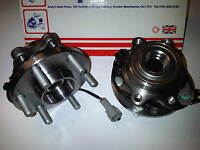 TO FIT NISSAN NAVARA D40 2.5 3.0 DCi 4X4 2x NEW FRONT WHEEL BEARINGS 2005-2013