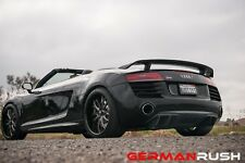 AUDI R8 2013-15 CARBON FIBER REAR DIFFUSER GERMAN RUSH with FINS