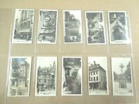 1925 Westminster BRITISH ROYAL ANCIENT BUILDINGS  set  cards Tobacco Cigarette