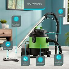 Zennox 3 in 1 20L Wet & Dry Vacuum & 1250W Carpet Washer Upholstery Cleaner