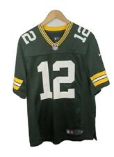 NIKE NFL ON FIELD GREEN GREEN BAY PACKERS AARON RODGERS JERSEY SIZE S SMALL MEN