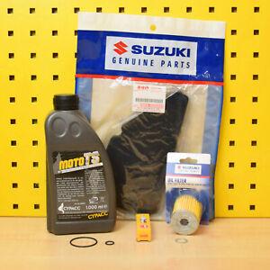 Suzuki Rv 125 Van Kit Original le Filtre à Air Du à Huile Bougie Cypacc 10w40