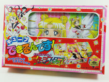 SAILOR MOON STARS - 1996 ORIGINAL VINTAGE CUBE BLOCK JIGSAW PUZZLE BANDAI - NEW
