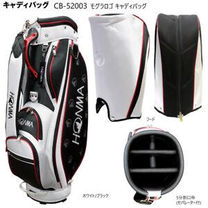 "2020 model HONMA Golf (HONMA) ""20 Mogura logo caddy bag CB-52003 HONMA Golf"