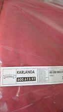 IKEA Karlanda 3+2 corner sofa  SLIPCOVER set, Gobo Red, NEW