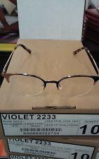 Warby Parker Violet 2233  Eyeglass Frames Rose Gold  49-19-145 New