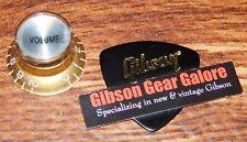 Gibson Les Paul Knob Single Gold V Top Hat Relic Guitar Parts R9 SG Custom ES R8