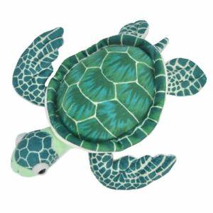 "Sea Turtle soft plush toy 8""/20cm stuffed animal Cuddlekins Wild Republic NEW"