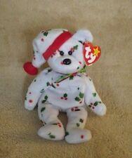 Ty Beanie Babies 1998 Holiday Teddy Plush Bean Bag Stuffed Animal Nwt