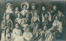 "Yorkshire. Ladies Girls Fancy Dress ""Chorus Of Dames""  AG.151"