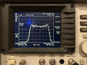 NewScope-0Jr LCD kit for HP 8590A 8592A Spectrum Analyzer with old-style bezel