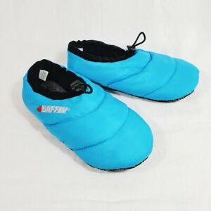 Baffin Cush Slippers Unisex Large Down Filled Womens 9 10 Mens 7 8