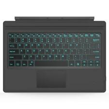 More details for microsoft surface pro 7 backlit keyboard trackpad wireless bluetooth led