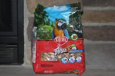 KAYTEE FIESTA MACAW FOOD 4.5 LB BAG GOURMET VARIETY FOOD OMEGA 3'S FOR HEART
