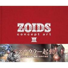 ZOIDS concept art II analytics illustration art book