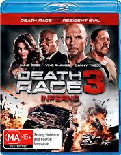 Death Race 3: Inferno - Action / Thriller / Violence - Luke Goss - NEW Bluray