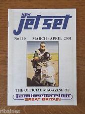 New Jet Set Magazine, Lambretta Great Britain Club, No.110 2001