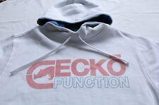 ECKO FUNCTION Mens WHITE LOGO PULLOWVER FLEECE SWEATSHIRT HOODY NWT M Medium $50