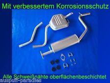 Abgasanlage, Auspuff, Ford Mondeo III 1.8 16V Tunier / Kombi (TYP BWY) + Kit
