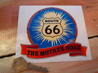 ROUTE 66 The Mother Road CAR Bumper STICKER 60's Americana Road Trip USA Highway