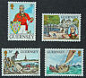 Timbres GUERNESEY - Stamp GUERNSEY - Yvert et Tellier n°300 à 303 n** (cyn3)