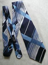 Vintage Tie Mens Wide Necktie Retro Fashion 1970s PELO SILK