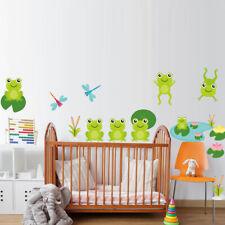 Family Wall Decals Frog Decals Boho Bedding Home Decor Nursery Yoga Studio aa151