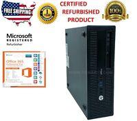 HP ProDesk 600 G1 SFF  i5-4570 3.20GHz 16GB 1TB HD Win 10 Pro 1 YEAR WARRANTY