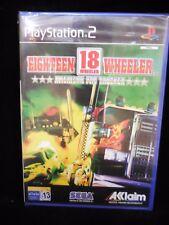 18 Wheeler American Pro Trucker para playstation 2 nuevo y precintado